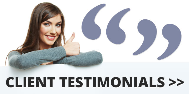 CL Specialist Cleaning Services client testimonials